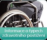 Informace o typech zdravotního postižení