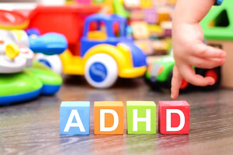 Projevy syndromu ADHD