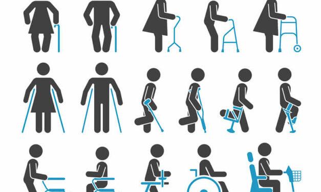 Rehabilitační a kompenzační pomůcky pro handicapované