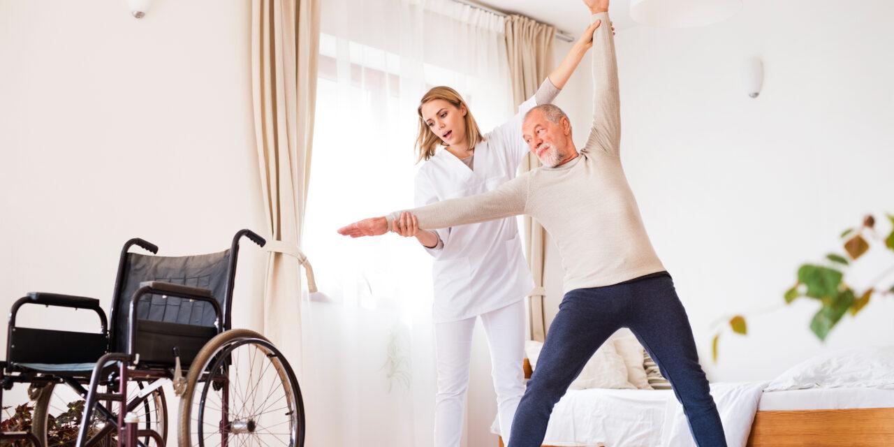 Jaká další služba může s péčí o blízkého pomoci? Domácí zdravotní péče.